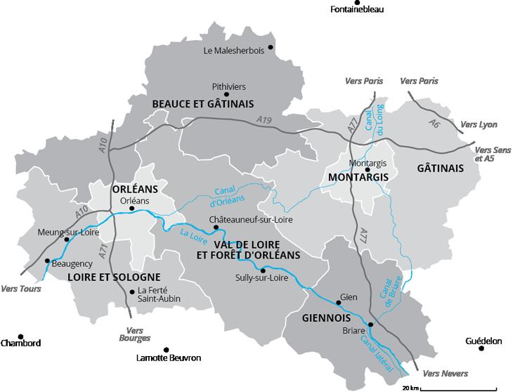 Idees De Visite Dans Le Loiret